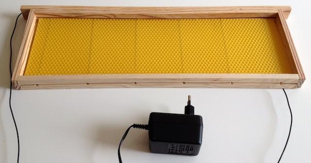Transformateur permettant de chauffer le fil d'inox