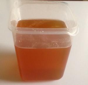 Le miel récolté