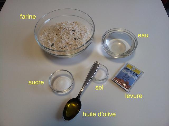 Le pain : des ingrédients simples