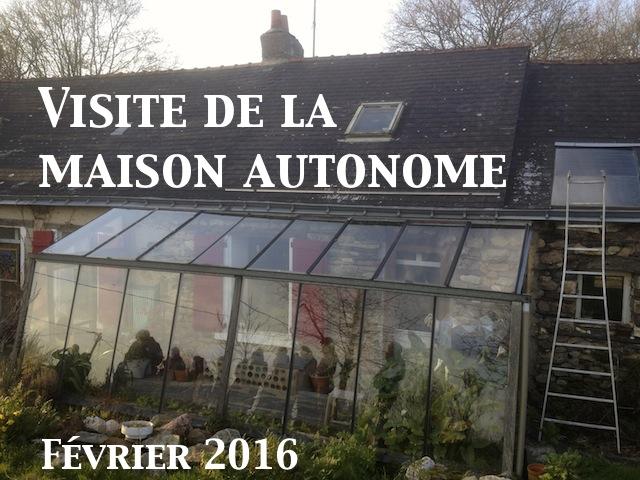 Permaculture et autonomie la maison autonome de patrick for Visite maison modele victoriaville 2016